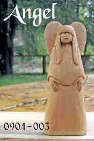 nativity angel keepsake carving