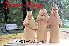 nativity three kings carving keepsake
